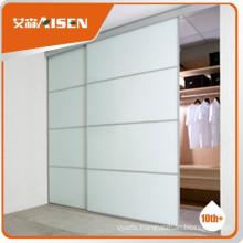Great durability glass sliding door wardrobe