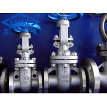 Válvula de porta de aço inoxidável da flange do ANSI em 150lb (Z41)