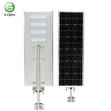 Luz de rua conduzida solar integrada all-in-one de Ip65 150w