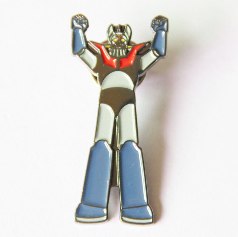Metal Robot Lapel Pin