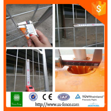 Galvanized outdoor temporary fence dog kennels fence/temporary fence panels/australia temporary fence