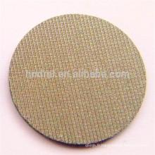 5 microns Cinq couches de treillis métallique tissé fritté