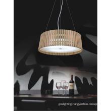 Elegant Modern Wooden Pendant Lamp