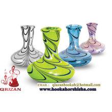 Best Selling Colorful Crystal Hookah Shisha Vase