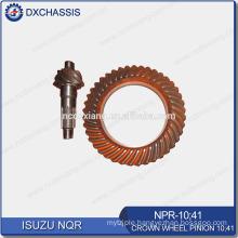 Genuine NQR 700P Crown Wheel Pinion Gear 10:41 NPR-10:41