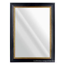 2020 autumn new design wholesale custom black PS Frame wall mirror for Bedroom Bathroom Living Room Mirrors