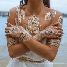 Sexy Body Mixed Pattern Einfach Bewegen Sichere Metall Tattoo Aufkleber