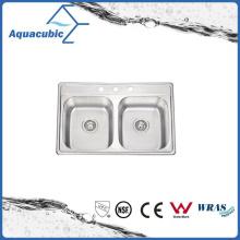 Economic Stainless Steel Moduled Sink (ACS8052EM)
