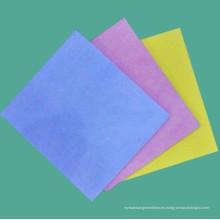 Toalla no tejida del hogar (teñido llano), paño de limpieza