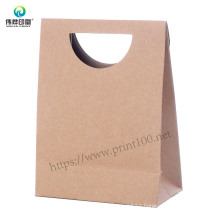 Custom Printed Recycled Fashion Paper Packaging Gift Bag for Die Cut