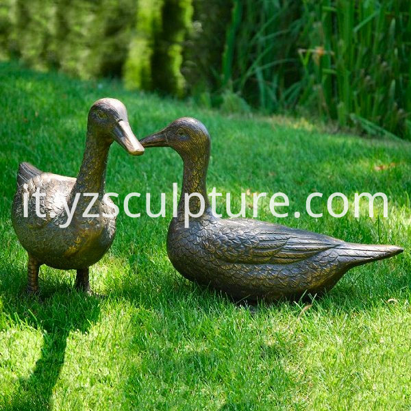 Life Size Duck Sculpture