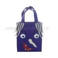Purple Handle Shopping Bags Halloween Candy Bag