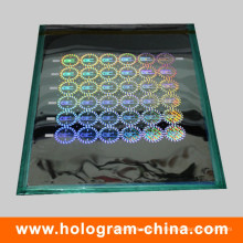 2D/3D Laser Security Holographic Master