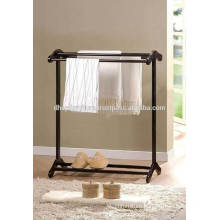 Wood Towel Hanger , Low Towel Rack