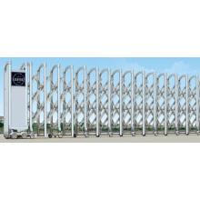 Электрические раздвижные ворота из нержавеющей стали
