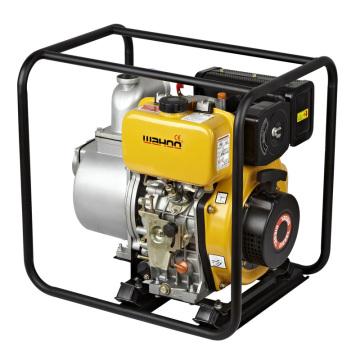 Irrigação agrícola centrífuga 4 '' Bomba de água diesel com 406cc Novo motor