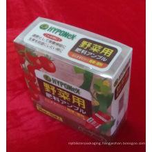 plastic printing box for fruit (PVC314)