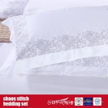 Chaos Stitch Bedding Set Diseño clásico para el hotel