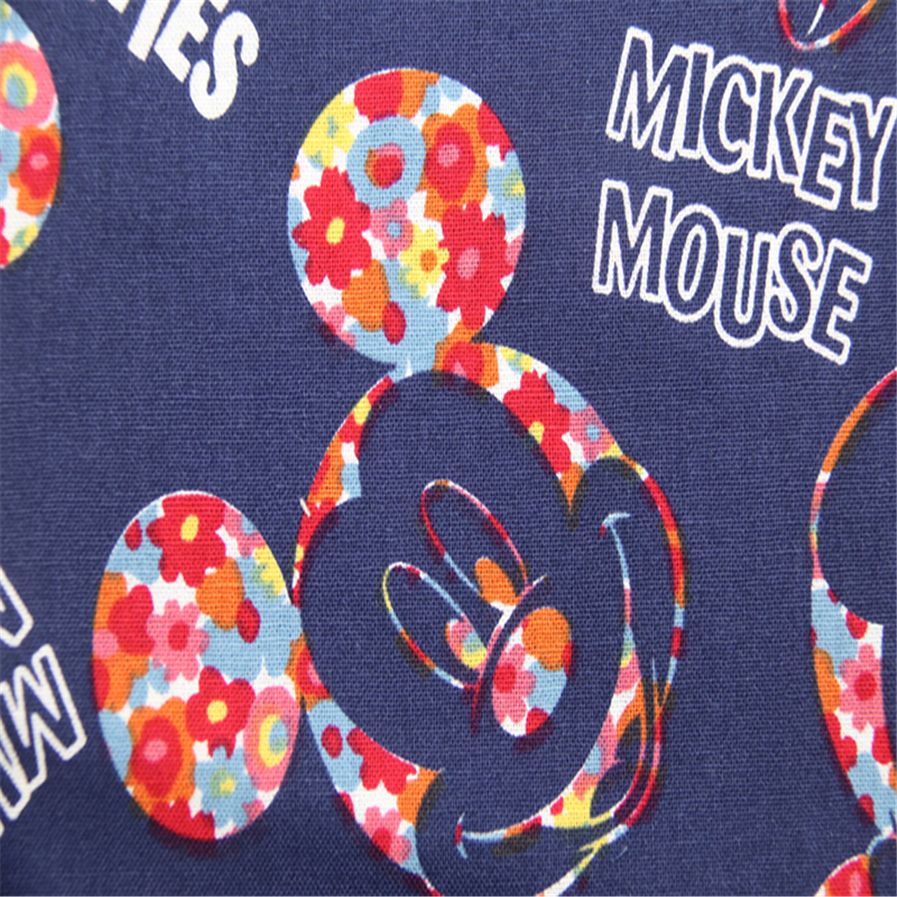 Cotton Mickey Mouse Clothing Fabric
