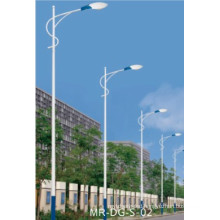 Street Light Post with Single Arm 8m Lamp Pole