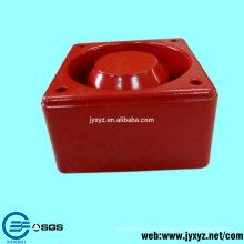 Shenzhen oem muere accesorios de la caja del altavoz de la aleación de aluminio de la fundición