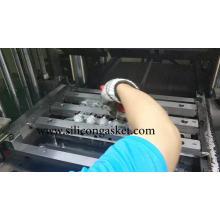 Ventosas de sucção a vácuo de fole oval de borracha de silicone
