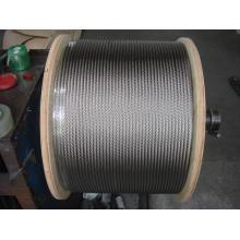 Cable de acero inoxidable 316 7x19 8.0mm