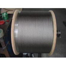 316 stainless steel wire rope 7x19 8.0mm
