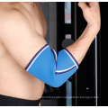 Fashionable Custom color logo Neoprene Elastic Protective Elbow Support Elbow Brace For Sports