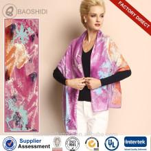 2015 moda 100 bufanda pura de lana último diseño chal