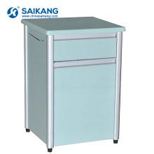 SKS009 Useful Aluminum Frame Hospital Storage Bedside Cabinet