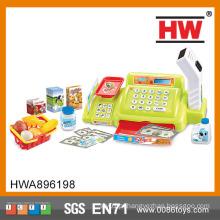 Caixa engraçada da caixa da casa do jogo com luz & música do cartão de crédito do brinquedo da máquina