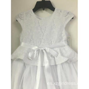 Princess Flower Baby Girl Dress Summer