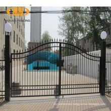 Direct factory custom cast iron home tubular arch gate design in india