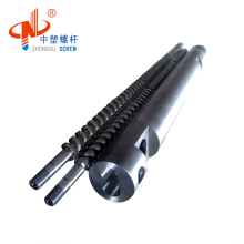 Parallel Twin Screw Barrel For PVC Pipe Extruder