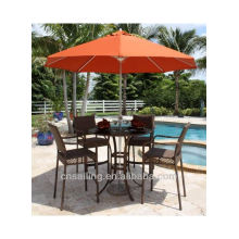 Hot sale Outdoor All Weather bar table with chairs