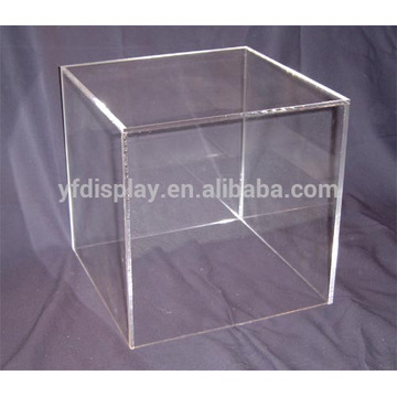 clear acrylic wedding printing hat box