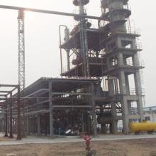 Convertendo óleo de motor usado em uma fábrica a diesel