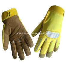 Machine Working Protective Gel Pads Full Finger Glove