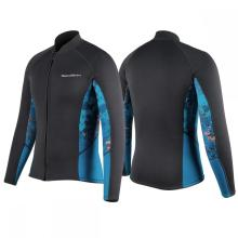 Seaskin 2mm Jacket Manga comprida Neoprene Wetsuits Top