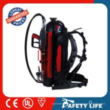 Alta tecnologia de boa qualidade mochila extintor de incêndio