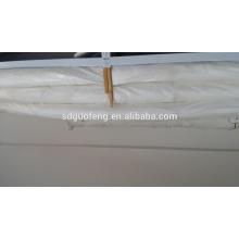 100% Белый хлопок ткань Сатин полоса отель постельное белье постельное белье/сатин полоса ткани для постельного белья/постельное белье сатин отель постельных принадлежностей