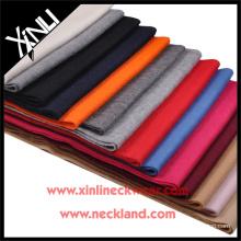 2015 neue Produkt Solid Cashmere Hand Made Schal