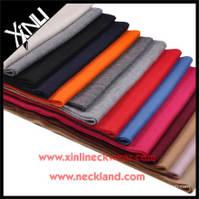 2015 New Product Solid Cashmere Hand Made scarf