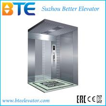Stable et de bonne qualité Ascenseur pour passagers avec petite salle de machines