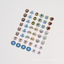 Custom 3D Clear Dome Epoxy Resin Sticker