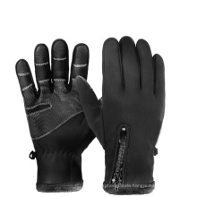 Wholesale Unisex Warm Windproof Waterproof Touch Screen Non-Slip Thick Full Finger Sports Gloves