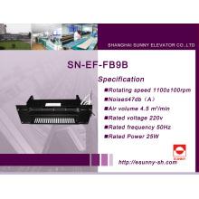 Belüftung für die Aufzugskabine (SN-EF-FB9B)