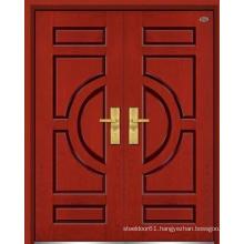 Exterior door wood cedar exterior door