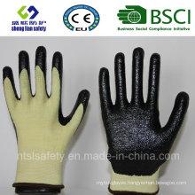 13G Kevlar Liner with Foam Nitrile Coating Work Gloves